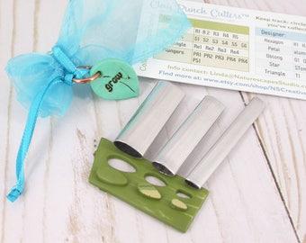 Designers Series Set- Aluminum Petals - Clay Punch Cutter™ - Mini Clay Cutters