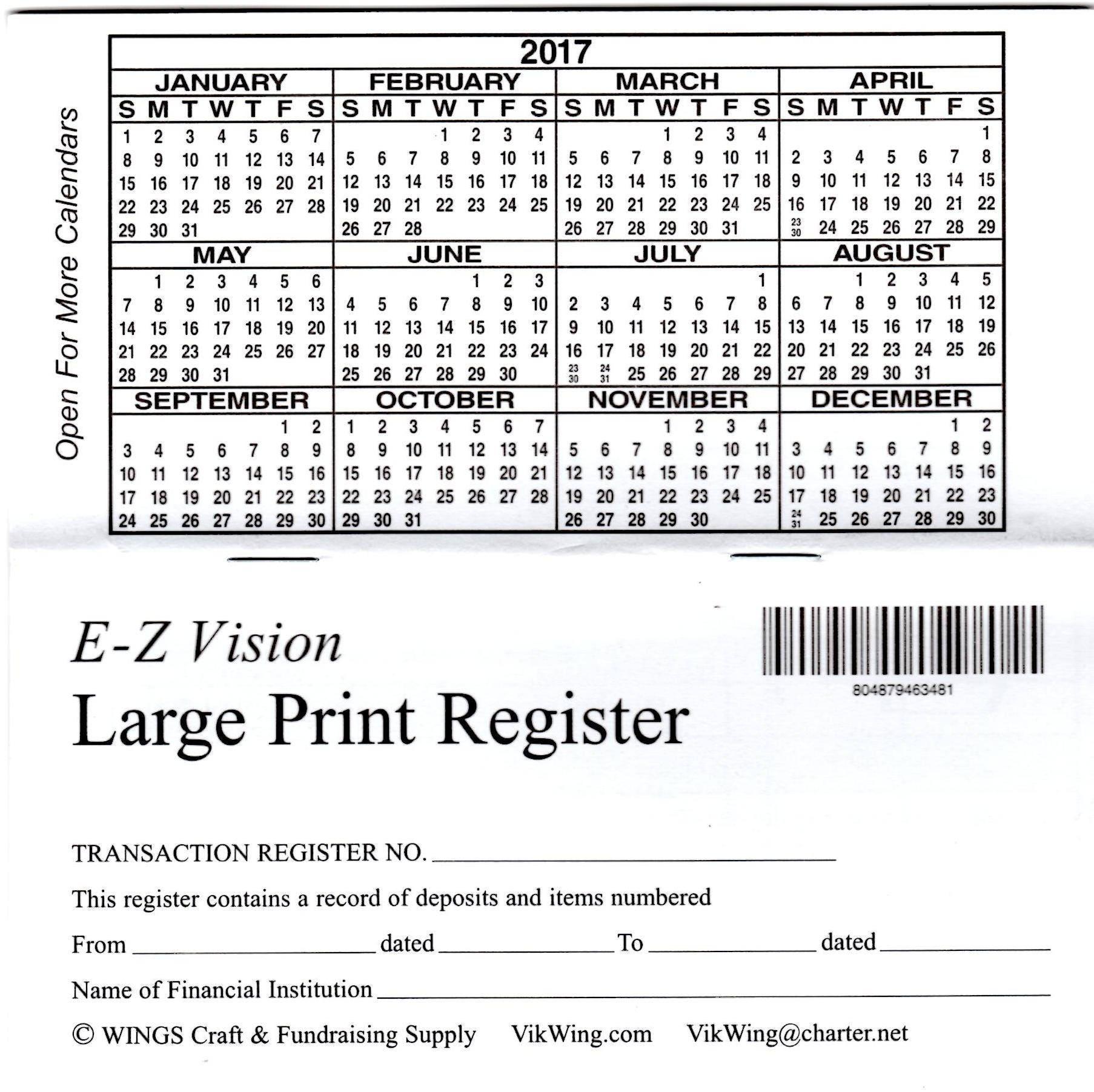 print check register