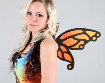 Butterfly Wings - 7 Color Combos - for Cosplay, Parties, Clubbing, Cons, Fun, Studio Photoshoot Props, Halloween Costume