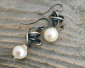 Sterling Silver Earrings Handmade Earrings Wild Prairie Silver Jewelry