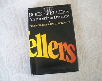 "Vintage Book History ""The Rockefellers An American Dynasty"" 1976 Story of Enormous Wealth"