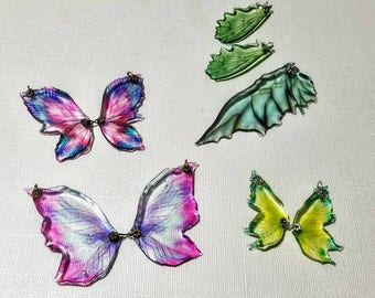 Butterfly and Fairy Wing Charms