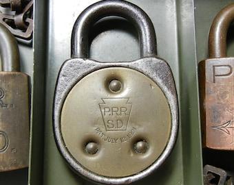 PRR SD Signal Lock - Pennsylvania Railroad