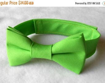 SALE Apple Green Bowtie - Infant, Toddler, Boy           2 weeks before shipping