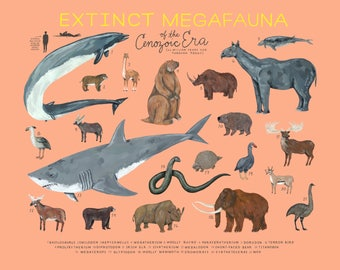 Extinct Megafauna of the Cenozoic Era