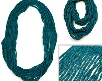 Infinity Chain Scarf - PDF Crochet Pattern - Instant Download
