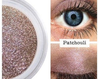 SALE Natural Eyeshadow, Plum Brow, Neutral Eye, PATCHOULI, Plum Eyeshadow, Neutral Eye Shadow, Mineral Makeup, Orglamix, Vegan Makeup