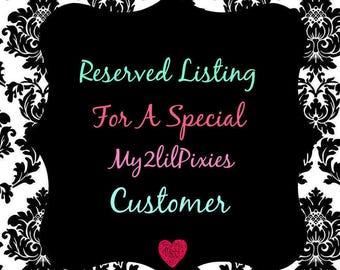 Special listing for Cheyanne