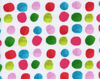 Cotton + Steel - Noel Collection - Painted Dots in Pink