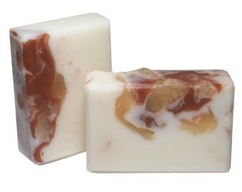 EXOTIC LEATHER Soap, 5oz Bar, Men's Fragrance, Natural and Vegan Ingredients