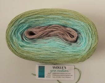 AQUARELLE II - Color Changing Cotton yarn - 480 yards/100 gr - Fingering Weight