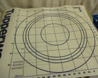 Tupperware pastry sheet/mat