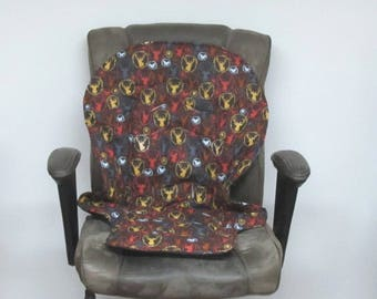 Graco Duodiner or Graco Blossom chair cushion, baby accessory replacement pad, kids furniture protector, feeding chair, forest portraits