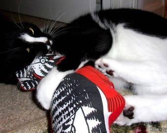 KLIBAN Cat fabric POWERFUL Organic Catnip Toys ~ Set of 2 !