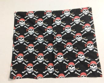 Skulls with knives fabric 248368
