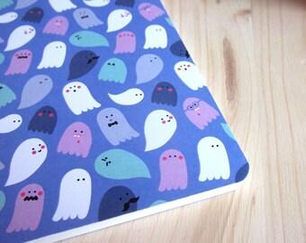 Ghost notebook / sketchbook ghosts kawaii A6 size