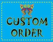 Custom Order Frog Dress Reserved for Gretchen