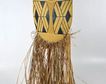 Rare Amazon Indian mask Kalapolo peoples, Xingu River