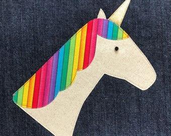 Adult Reversible Unicorn Apron - Custom Order for Sommer