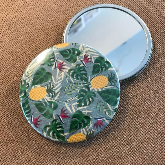 Pineapples - Pocket Mirror