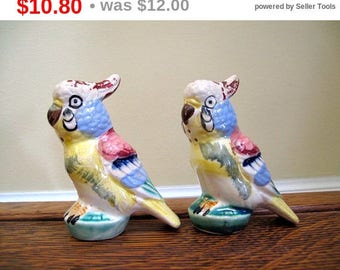 Parrot Salt and Pepper Shakers from Japan Estate Find