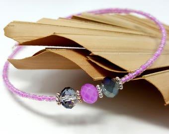 Beaded Choker, Beach Jewelry, Girlfriend Gifts, Bohemian Necklace, Boho Choker, Gift for Friends, Gift for Her, Summer Boho Jewelry