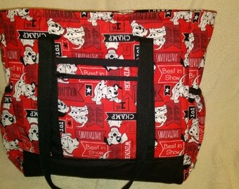 Disney's 101 Dalmatians Diaper Bag, Toddler Bag, Overnight Bag