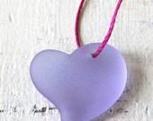 15% OFF Sea Glass Beads - Sea Glass Pendant - Beach Glass Beads - Jewelry Making Supply - 18mm Sea Glass Glass Heart - - Choose Amount