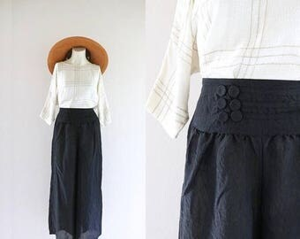 ON SALE wide leg gauze pants