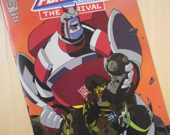 Transformers Animated issue 3 by Boo Rudetoons comic book TFA cartoon toon signed