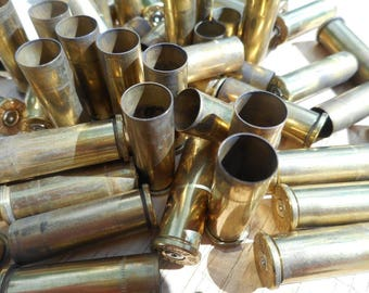 59 Bullet Casings Shell Casings Brass Casings A mix of 38 auto and 38 special