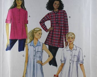 ON SALE Butterick 6099, Misses' Tunic Sewing Pattern, Sewing Pattern, Misses' Patterns, Easy Sewing Pattern, Misses' Sizes 4 to 14, Uncut