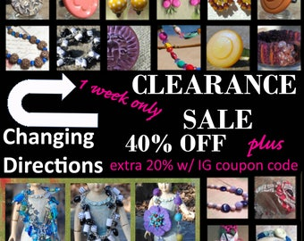 Changing Directions CLEARANCE SALE