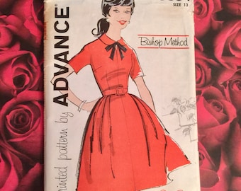 60's Vintage Advance Sewing Pattern