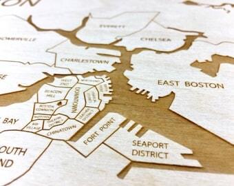 Boston Massachusetts Neighborhood Map, Back Bay Brookline Jamaica Plain Fenway Cambridge Somerville Boston Common Beacon Hill Allston