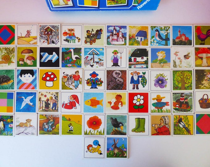 Memory Game Complete 1981 Ravensburger of West Germany