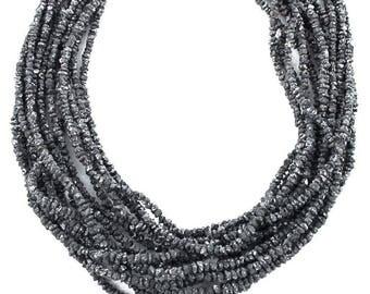 "BLACK DRUSY DIAMOND Beads 2-3.8mm 16"" New World Gems"