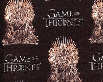 Game of Thrones  Iron Throne - Springs Creative - Half Yard
