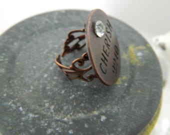 "Statement Filigree Ring ""Cherish"""