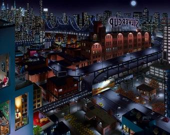 Long Island City ,Queens, New York City, Queensboro Bridge, Silvercup Studio