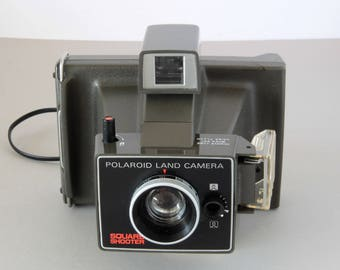 Polaroid Square Shooter Instant Film Camera Polaroid Land Camera