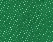 Organic KNIT Fabric - Cloud9 2017 Knits - Dots Green