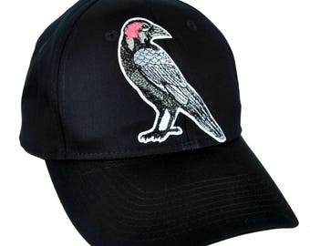 Death Raven Zombie Brains Hat Baseball Cap Alternative Gothic Clothing - YDS-PA-408-CAP