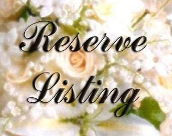 Reserved Listing for tbyrd2237