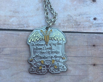 The Haunted Mansion Tombstone Necklace