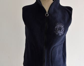 Gianni Versace Couture Medusa Logo Vest Black Wool Comfy Sleeveless Snow Authentic Sweater