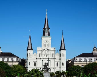 New Orleans- NOLA- French Quarter- Architecture- St. Louis Cathedral- Jackson Square