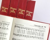 vintage hymnal | junk journal bible journaling scrapbooking treasure