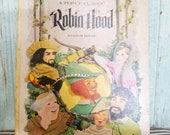 Robin Hood Random House Pop-Up Classic Book, Vintage Children's Pop Up Hardback