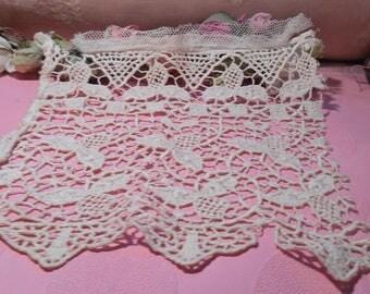 Antique Lace Cotton Chemical  French Lace  Edwardian Trim